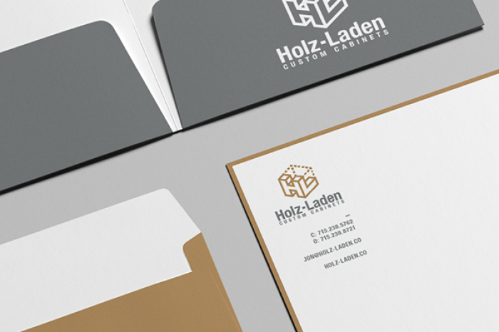 Holz-Laden Business Stationary Folders