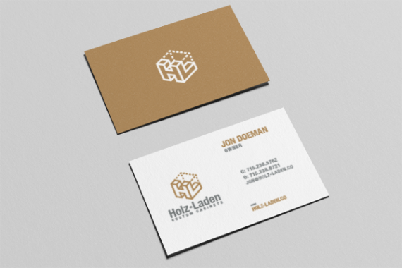 Holz-Laden Business Cards