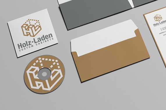 Holz-Laden Business Stationary