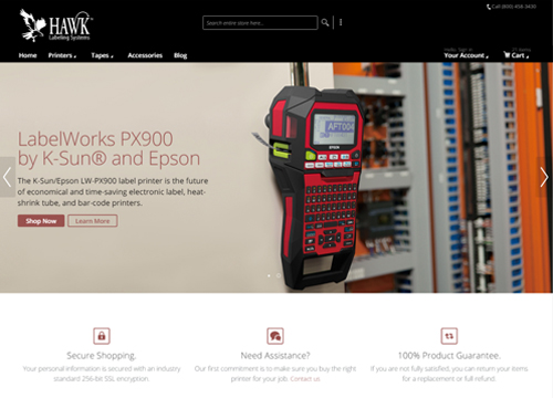 Hawk Labeling Systems Home Page