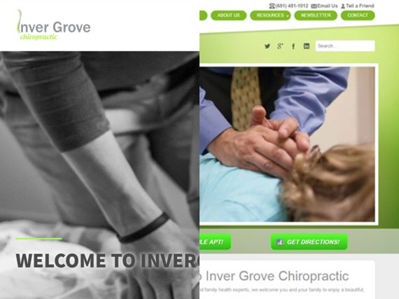 Inver Grove Chiropractic Before & After