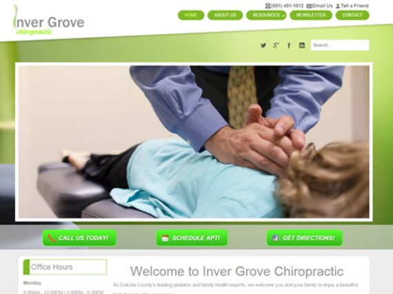 Inver Grove Chiropractic Project