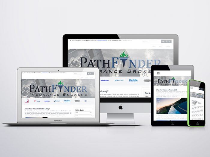 Pathfinder Insurance Brokers Portfolio Website