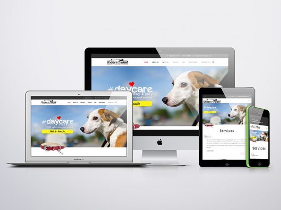 Under One Woof Website
